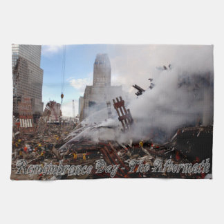 Remember The Fallen - Sept. 11, 2001 Tea Towel