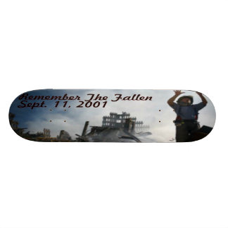 Remember The Fallen Skate Board Decks
