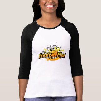 Remember The Frosty Pint Ladies Baseball Shirt