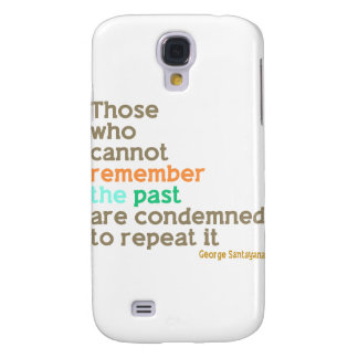 Remember the Past Samsung Galaxy S4 Cases