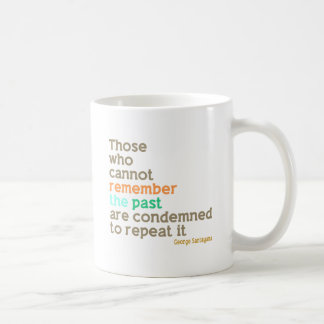 Remember the Past Coffee Mug