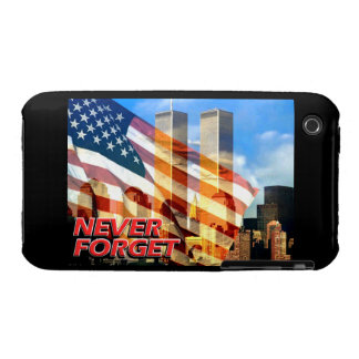 Remember The September 11 2001 Terrorist Attacks iPhone 3 Case-Mate Case