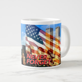 Remember The September 11, 2001 Terrorist Attacks Jumbo Mug