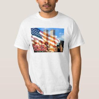 Remember The September 11, 2001 Terrorist Attacks Tee Shirt