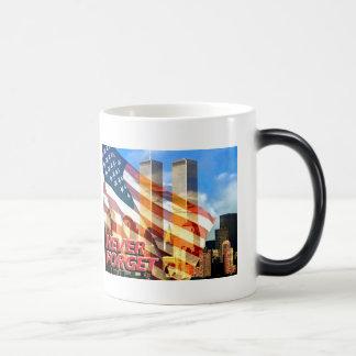 Remember The Terrorist Attacks on 9/11/01 Magic Mug