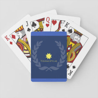 Remember Thermopylae Playing Cards