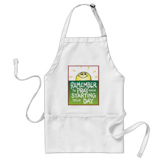 Remember to Pray Everyday Standard Apron