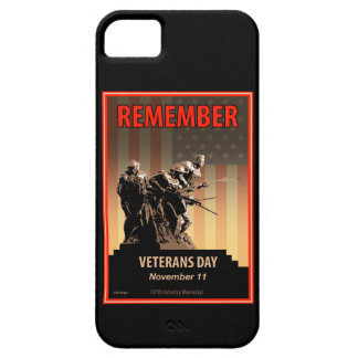 Remember Veterans Day Barely There iPhone 5 Case