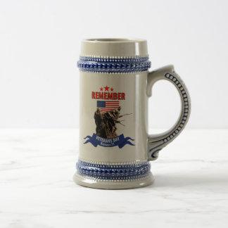 Remember Veterans Day Coffee Mugs
