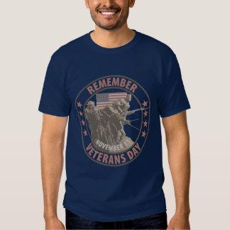 Remember Veterans Day T Shirt