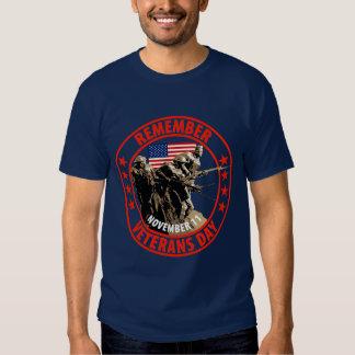 Remember Veterans Day Tshirt
