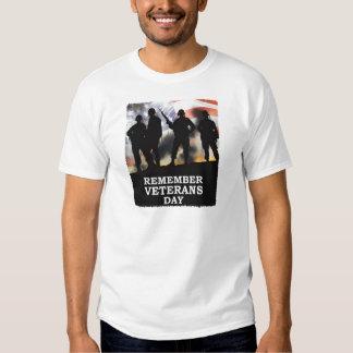 Remember Veterans Day Veterans Day T-Shirt