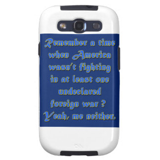 Remember When Foreign Wars Galaxy S3 Covers