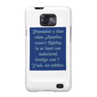 Remember When Foreign Wars Galaxy SII Case