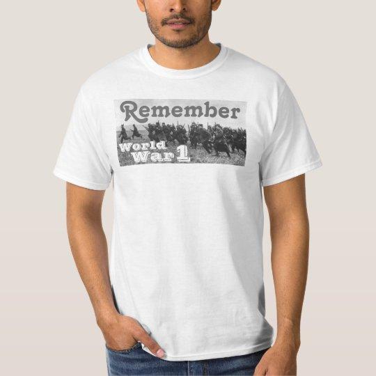 Remember World War 1 T-Shirt