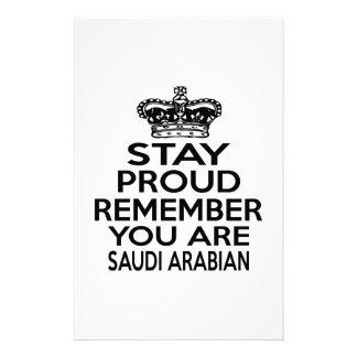 REMEMBER YOU ARE SAUDI ARABIAN CUSTOMISED STATIONERY