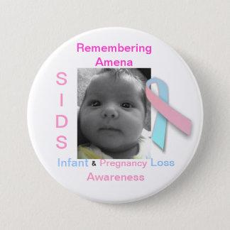 Remembering Amena 7.5 Cm Round Badge