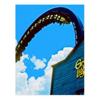 Remembering Astro World Amusement Park Postcard