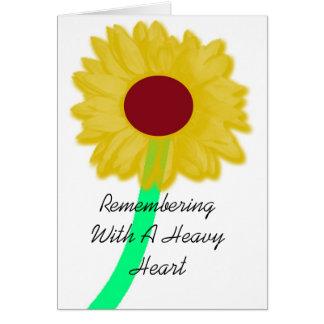 Remembering Card