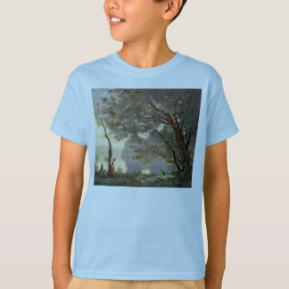 Remembering Mortefontaine By Corot Jean-Baptiste-C T-Shirt
