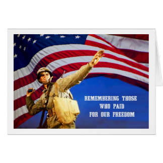Remembering Our Heroes Memorial Day Greeting Cards