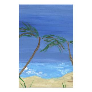 Remembering Sunny Times Landscape Art Stationery