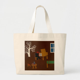 Remembering that Late Afternoon... 2007 Large Tote Bag