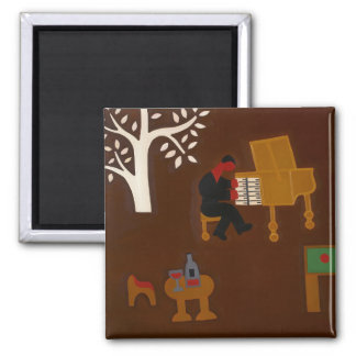 Remembering that Late Afternoon... 2007 Square Magnet
