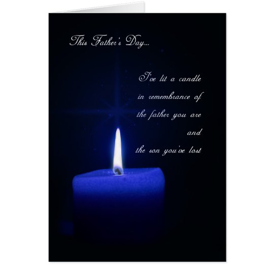 Remembering the Loss of a Son on Father's