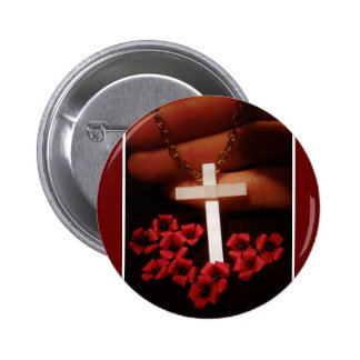 Remembrance 6 Cm Round Badge