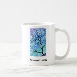 Remembrance Basic White Mug