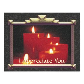 Remembrance Candles & Vines 21.5 Cm X 28 Cm Flyer