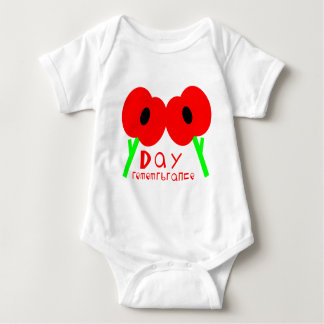 Remembrance Day, Armistice Day or Veterans Day Baby Bodysuit