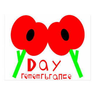 Remembrance Day, Armistice Day or Veterans Day Postcard