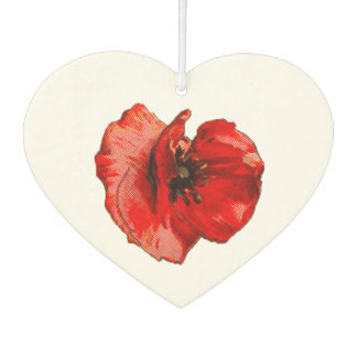 Remembrance day car air freshener