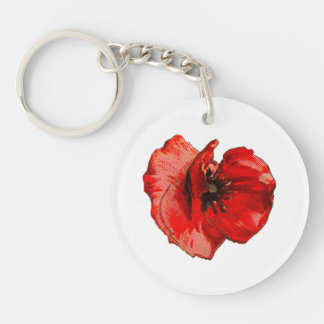 Remembrance day key ring