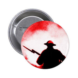REMEMBRANCE DAY,TROOPS,PAST/PRESENT 6 CM ROUND BADGE