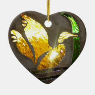 Remembrance in Stained Glass Ornament