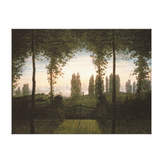 Remembrance of Johann Bremen Canvas Print