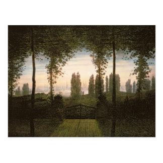 Remembrance of Johann Bremen Postcard