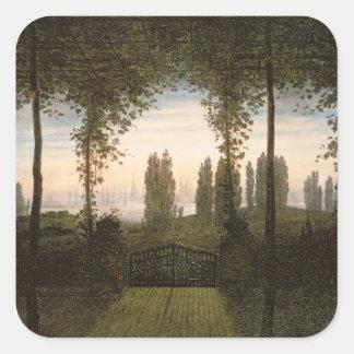 Remembrance of Johann Bremen Square Sticker