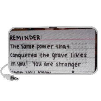Reminder iPhone Speaker
