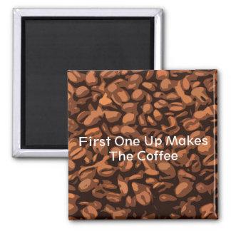 Reminder to make Coffee Magnet Fun Humor