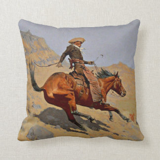 Remington - The Cowboy Cushion