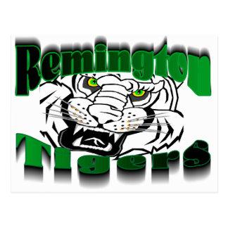 Remington Tigers Postcard