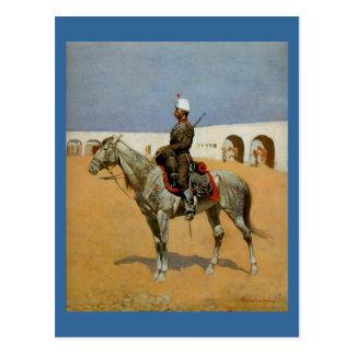 Remington's Cavalryman of the Line, Mexico (1889) Postcard