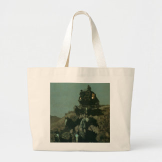 Remington's Old Stagecoach of the Plains (1901) Jumbo Tote Bag