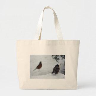 Reminiscing Robin Canvas Bag