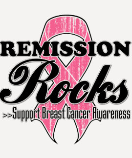 Remission Rocks - Breast Cancer Awareness T Shirts