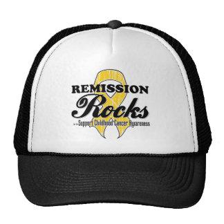 Remission Rocks - Childhood Cancer Awareness Cap